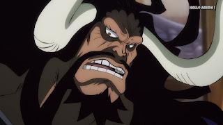 ワンピースアニメ ワノ国編 995話 | 四皇 百獣のカイドウ | ONE PIECE  KAIDO