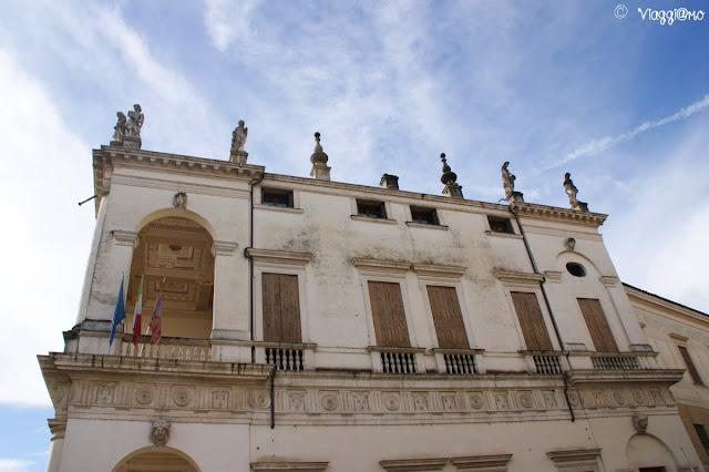 Scorcio di Palazzo Chiericati a Vicenza, opera del Palladio