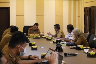 Pemprov Lampung Gelar Rapat Persiapan Pelaksanaan Groundbreaking Kawasan Terintegrasi Bakauheni Harbour City