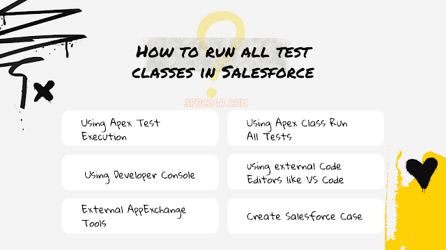 How to run all test classes in Salesforce ?
