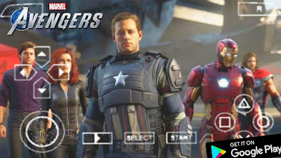 Marvel Avengers PPSSPP Download for Android/iOS Mobile