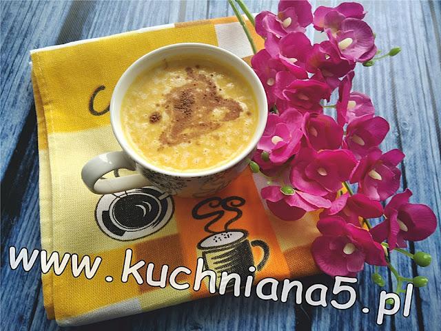 koreańskie dyniowe latte