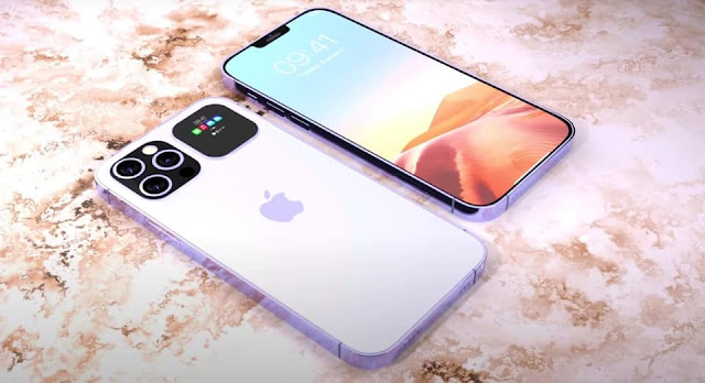 Hé lộ thêm concept với màn hình phụ phía sau mặt lưng cực đẹp trên iPhone 13 Pro và Pro Max