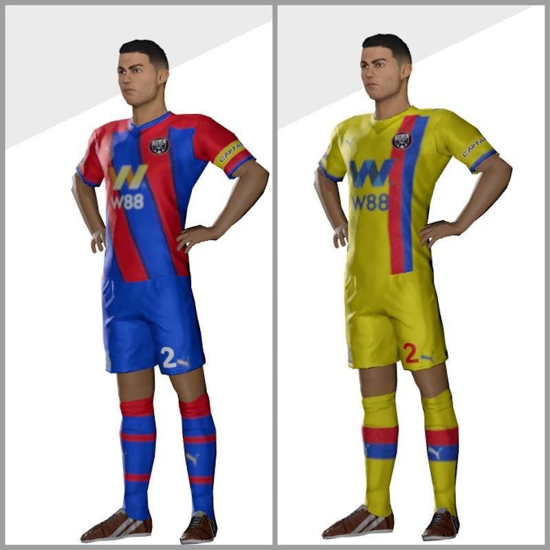 Kit Crystal Palace 2022 Dream League Soccer 2021