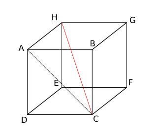 Diagonal Ruang dan Bidang
