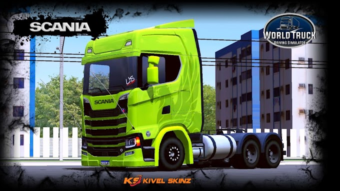 SCANIA S730 - THE FLYING GRIFFIN GREEN