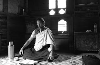Picture of Christos Dorje Walker doing meditation