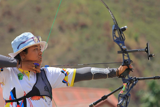 Atlet Panahan, Rezza Ocatavia Persembahkan Medali Perak ke Papua.lelemuku.com.jpg