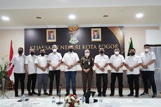 Kadin Bangun Kolaborasi dan Sinergitas Bersama Kejari Kota Bogor