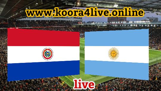 الأرجنتين تطمح للفوز اليوم عندما تلاقي باراجواي اليوم في التصفيات