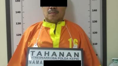Dit Resnarkoba Polda Kepri Berhasil Amankan Pelaku Pemilik Narkotika Jenis Sabu