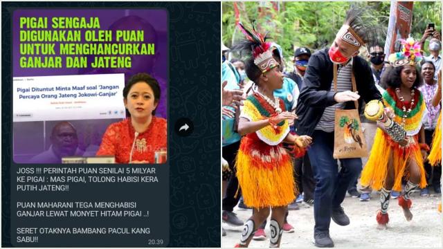 Beredar Pesan WA Sebut Puan Bayar Pigai Rp5 M untuk Habisi Ganjar di Jateng