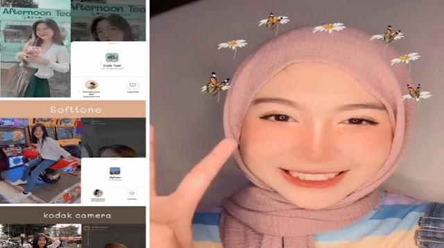 Nama Efek IG Terbaru untuk Selfie