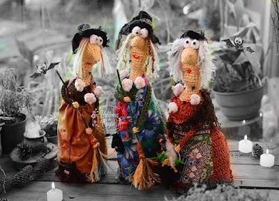 Brujas Halloween amigurumis de ganchillo paso a paso