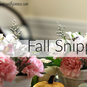 Snippets Of Fall Homemaking