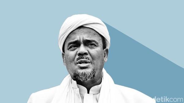 Sidang Kasasi Kasus Kerumunan Petamburan Habib Rizieq Digelar Hari Ini