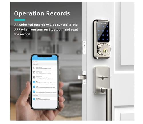 hornbill Smart Lock Keyless Entry Deadbolt Door Lock