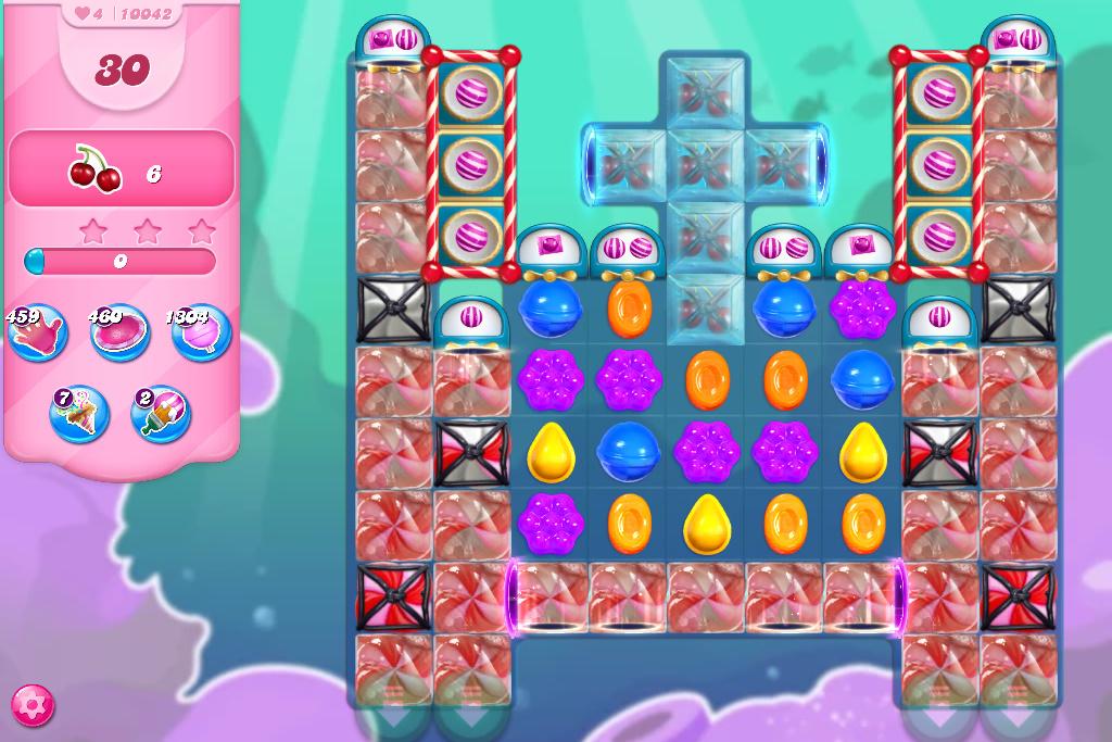 Candy Crush Saga level 10042