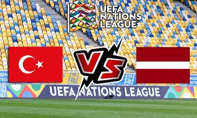 لاتفيا و تركيا بث مباشر