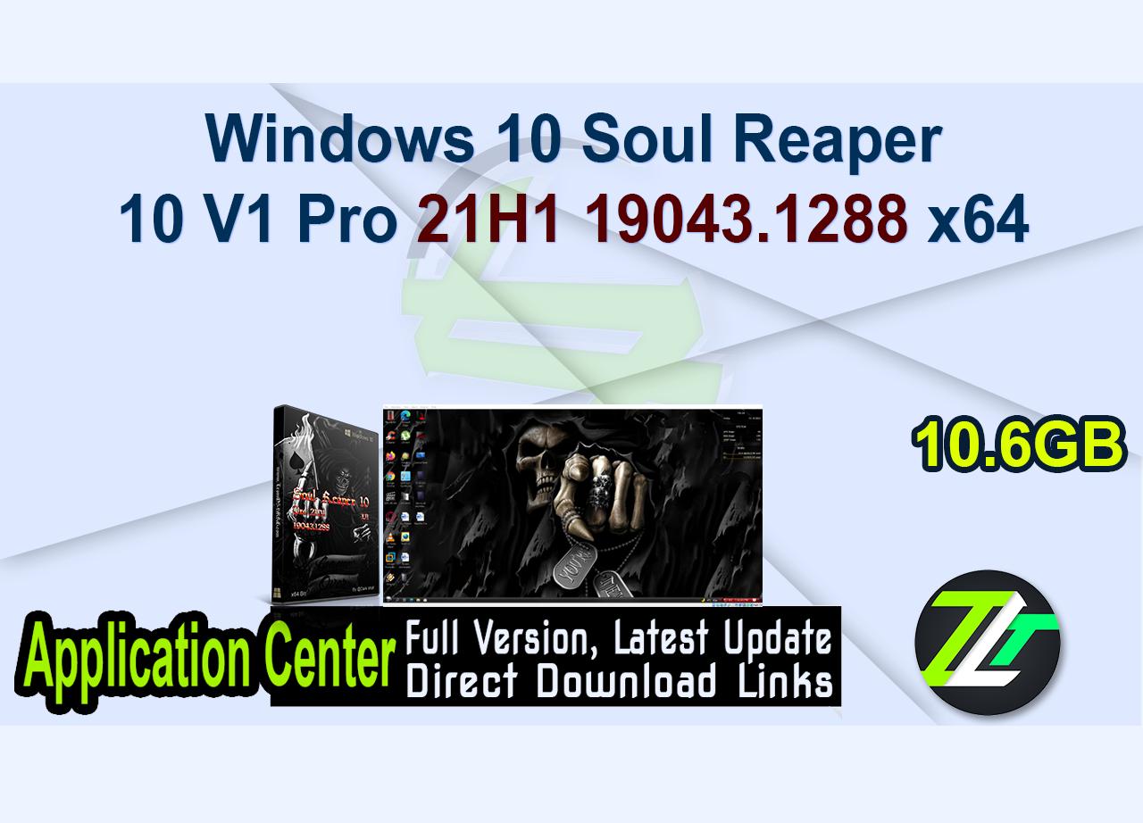 Windows 10 Soul Reaper 10 V1 Pro 21H1 19043.1288 x64
