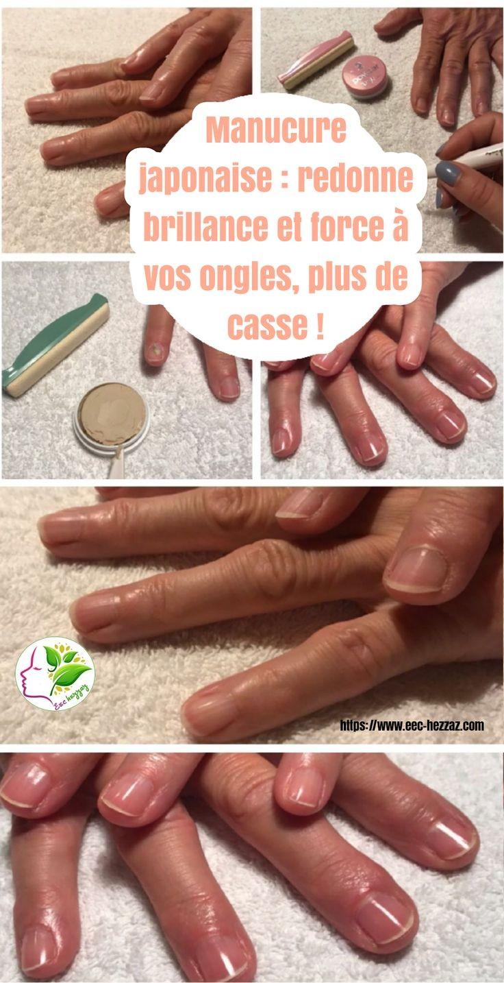 Manucure japonaise : redonne brillance et force à vos ongles, plus de casse !