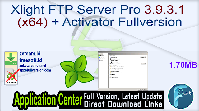 Xlight FTP Server Pro 3.9.3.1 (x64) + Activator Fullversion