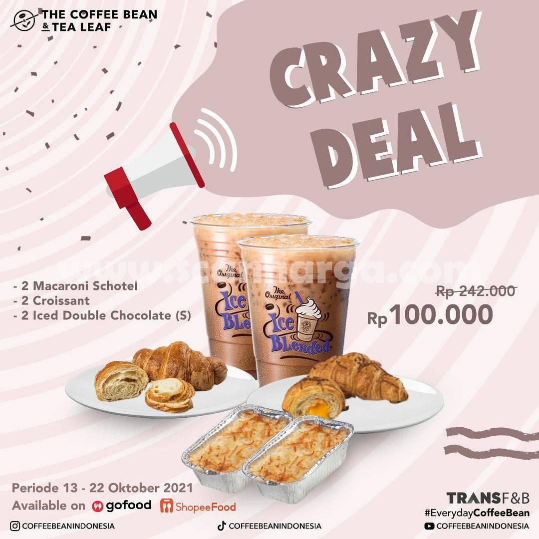 Promo COFFEE BEAN Crazy Deal, Harga Spesial 6 Menu cuma Rp 100.000