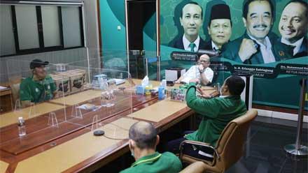 LaNyalla terima audiensi atlet-atlet Binaraga Jawa Timur