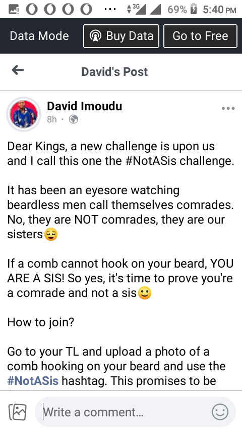 New trending challenge surfaces as Facebook users jumps into the trending challenge