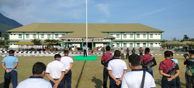Tingkatkan Silaturahmi, Batalyon Komposit 1/Gardapati Gelar Kegiatan Olahraga