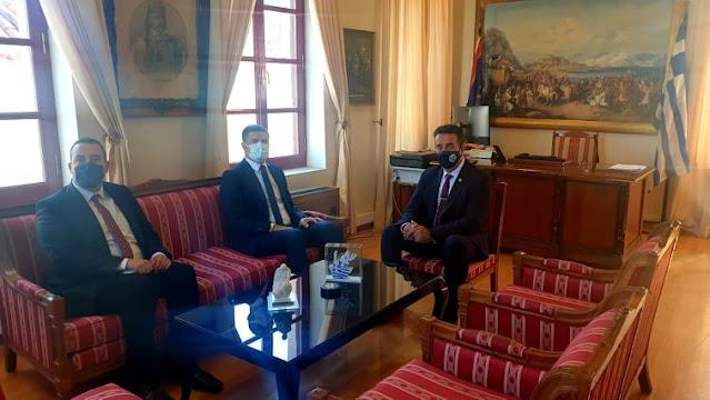Επίσκεψη του Τούρκου Πρόξενου στην Ελλάδα στον Δήμαρχο Ναυπλιέων