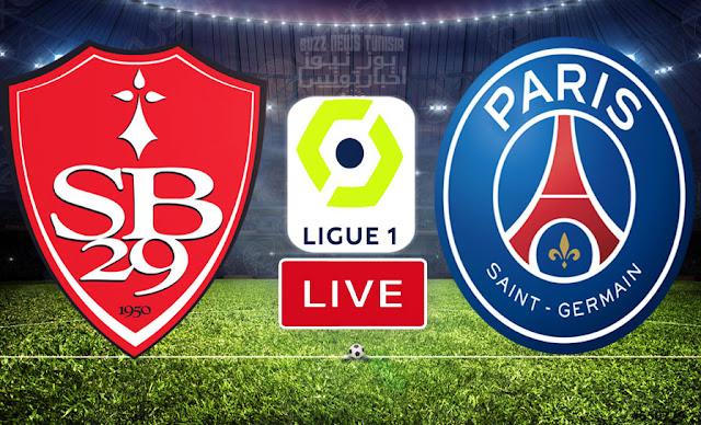 Match Brest vs Paris Saint-Germain Live Stream Ligue 1