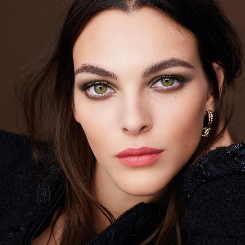 Chanel Makeup unveils fall 2021 campaign featuring model Vittoria Ceretti.