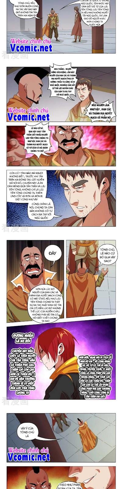 Võ Thần Chúa Tể Chương 545 - Vcomic.net