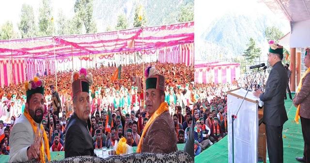 CM जयराम ने बताया- अपना ही घर लूट रहे कांग्रेस नेता, पार्टी को भेजा जा रहा करोड़ों का फर्जी बिल