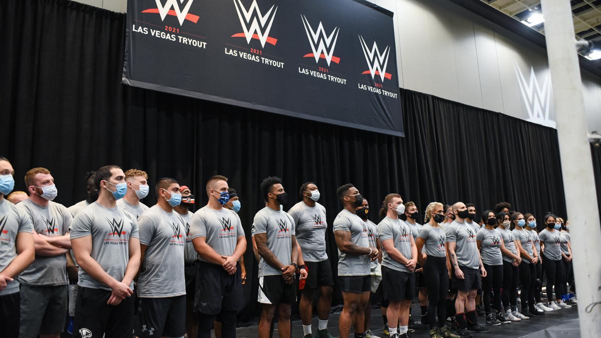 WWE ofereceu diversos contratos após recente tryout em Las Vegas