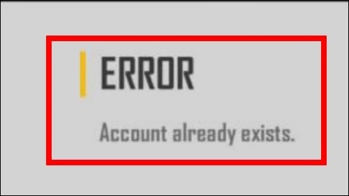 How To Fix Free Fire App Error Account Already Exists Problem Solved
