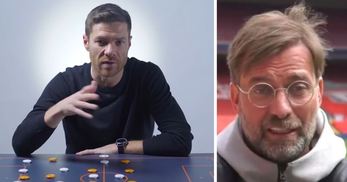 Xabi Alonso responds to fans question on becoming Liverpool manager