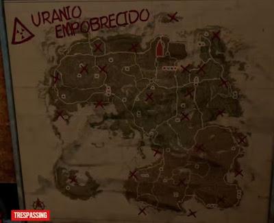 Anti-Aircraft Missiles, Uranium, Locations Map
