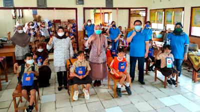 Instalasi Promkes RSUP Kandou Beri Edukasi Kesehatan ke Siswa dan Guru SDN 1 Bongkudai Barat
