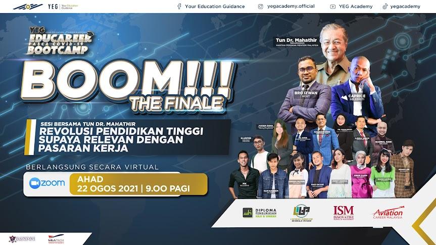 Tun Dr Mahathir Mohamad Bersama YEG Academy Bantu Graduan Tentukan Hala Tuju Pada Masa Hadapan
