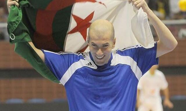 زيدان يتبرّع لضحايا حرائق الجزائر Zidane Algérie