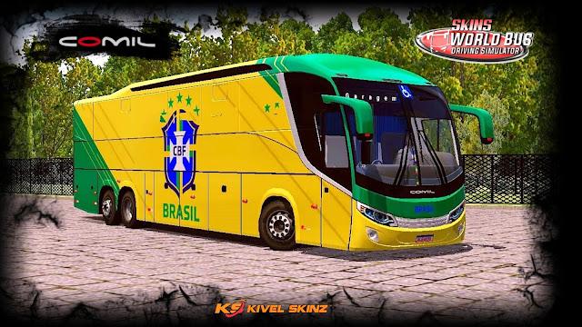 COMIL 1200 6X2 - SELEÇÃO BRASILEIRA AMARELO