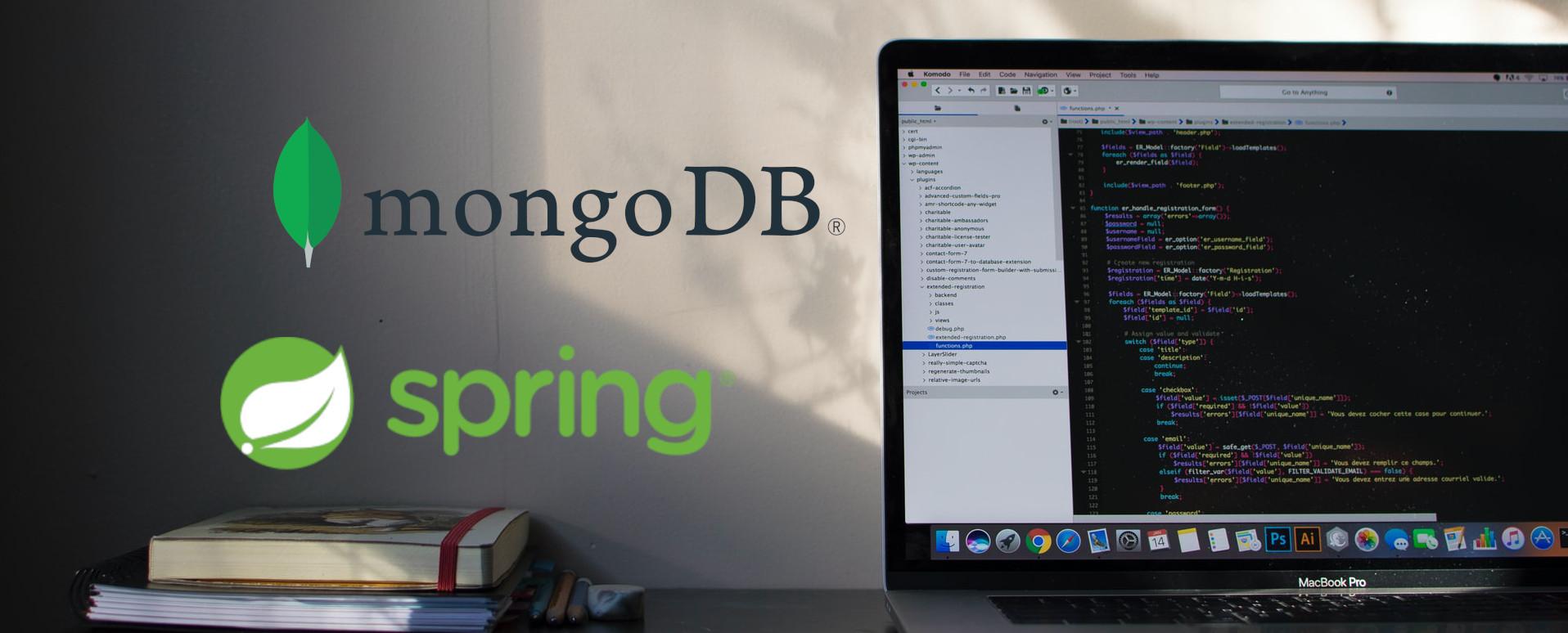 spring+mongodb