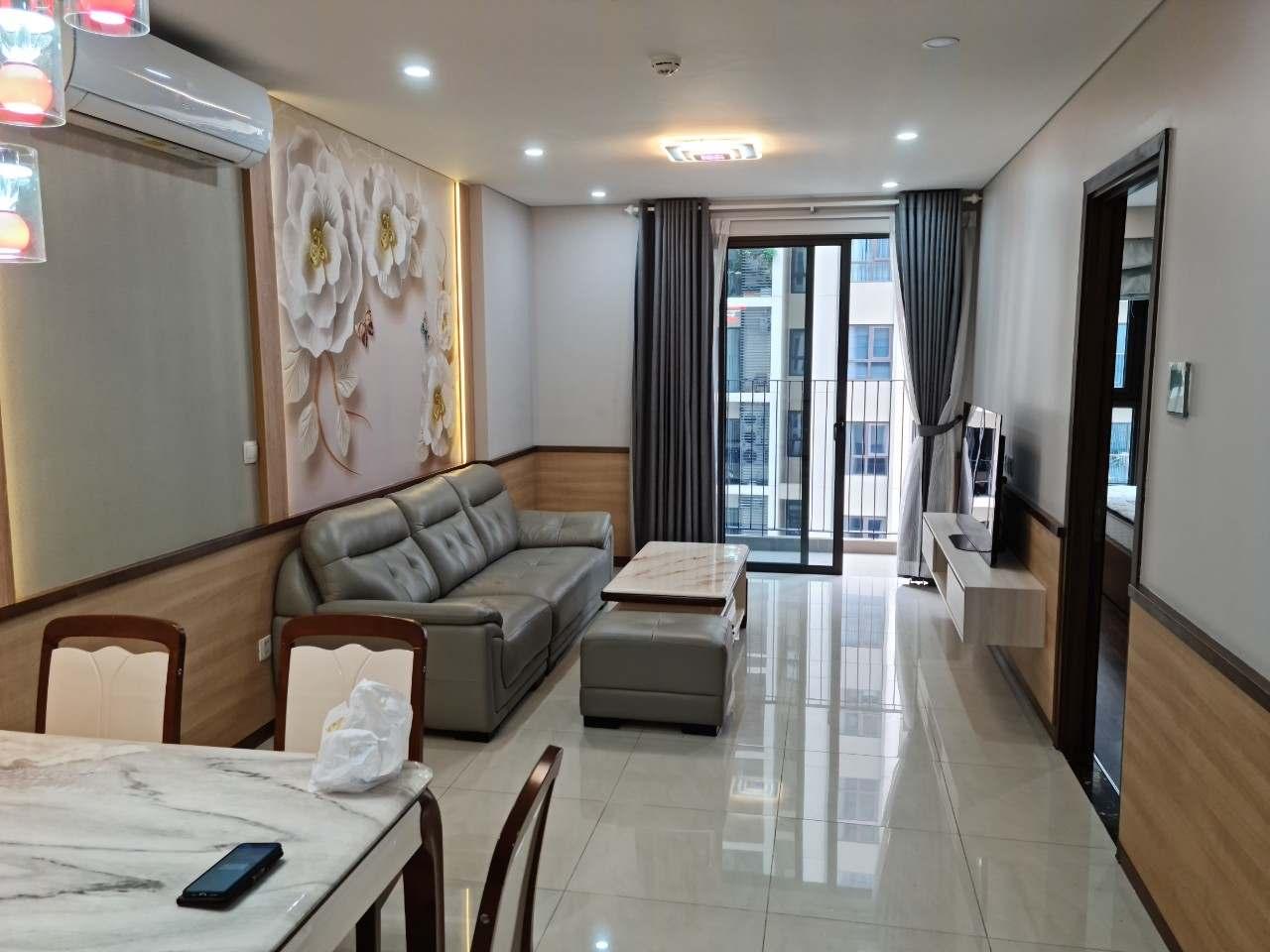 Phòng khách căn hộ Hado Centrosa