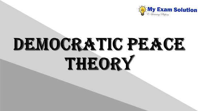 Democratic peace theory