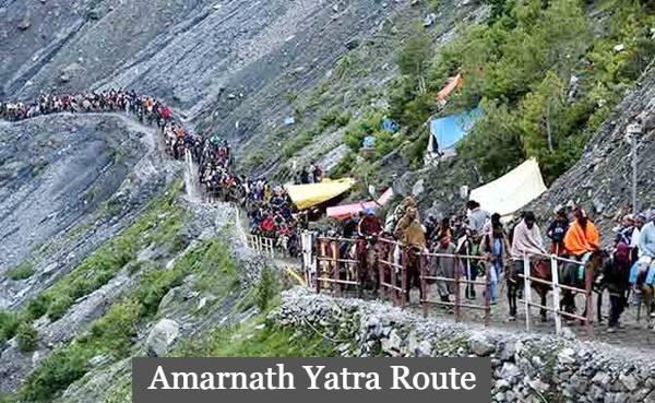 Amarnath Yatra Route
