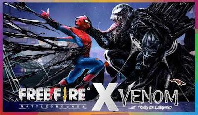 Berkolaborasi Dengan Venom, Free fire akan hadirkan Skin Eksklusif