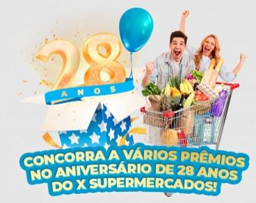 Aniversário 2021 X Supermercados 28 Anos