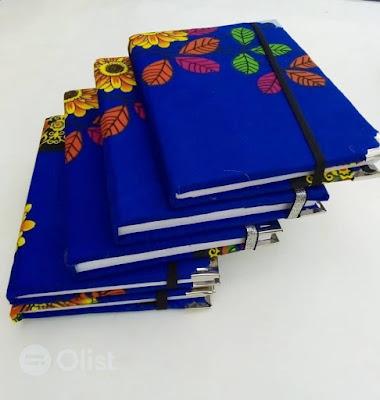 Buy Ankara Notebooks Ankara Fabric Books